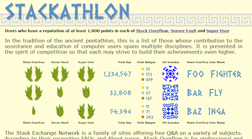 Stackathlon Screen Shot